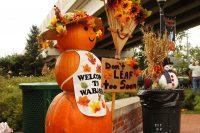 2010 Pumpkin Topiary Display