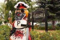 2010 Pirate Pumpkin Topiary Display