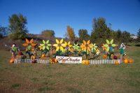 2011 Flower Garden Topiary Display