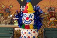 2013 Clown Pumpkin Display