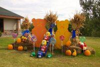 2013 M&M Pumpkin Display