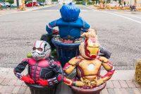 2016 Super Hero Topiary Display