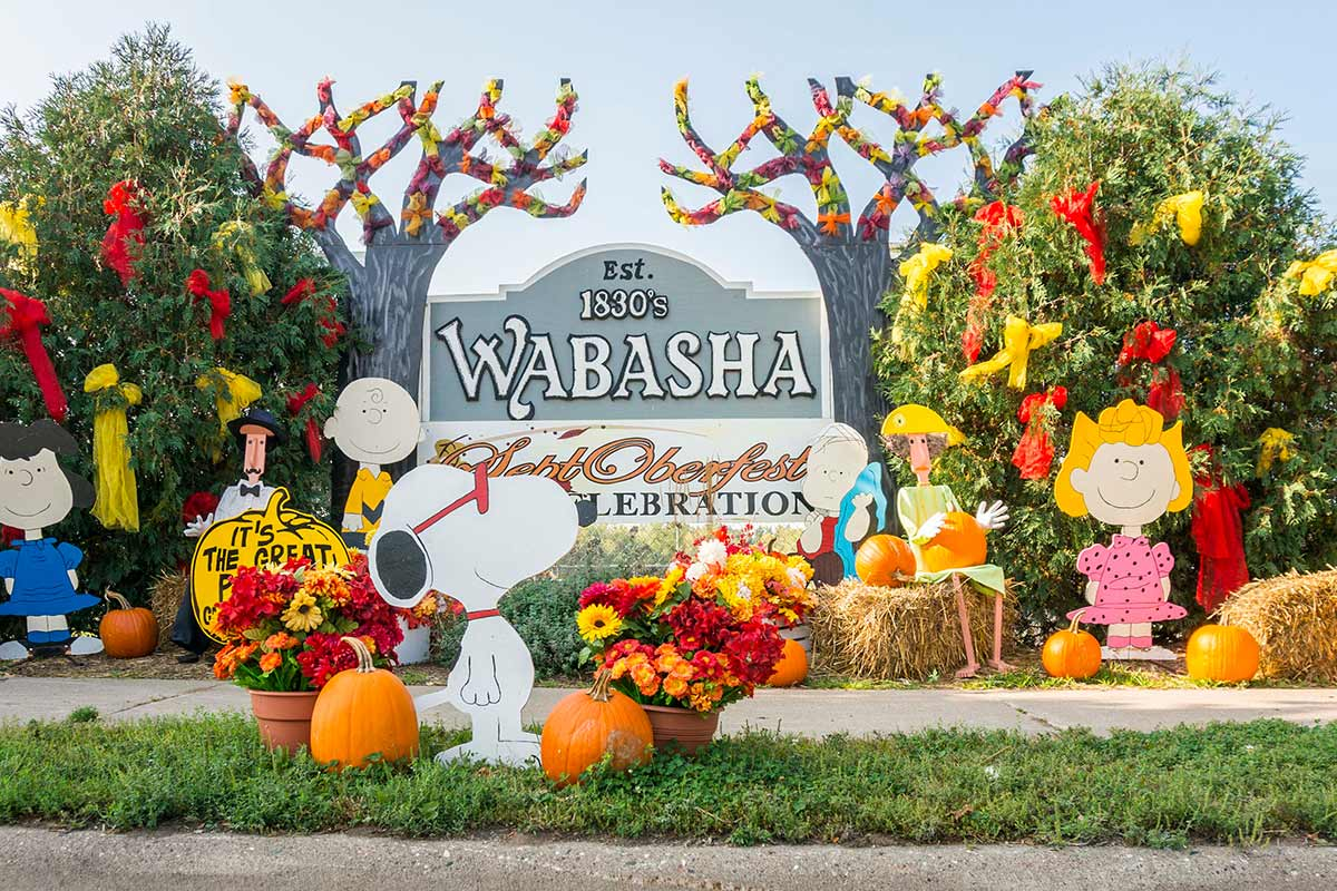 2017 Wabasha Topiary Display