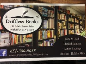 Driftless Books 2 year Celebration @ Driftless Books | Wabasha | Minnesota | United States