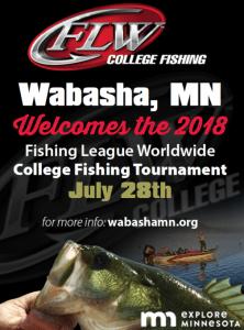 Fishing League Worldwide College Fishing Tournament @ Wabasha, Minnesota