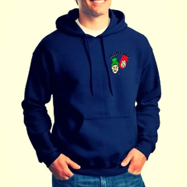 grumpy plunge sweatshirt