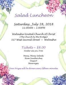 Salad Luncheon @ United Church of Christ | Wabasha | Minnesota | United States