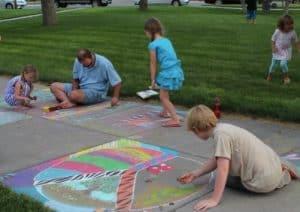 Kid's Sidewalk Chalk Event @ Heritage Park | Wabasha | Minnesota | United States
