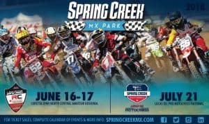 Lucas Oil Pro Motocross National @ Spring Creek MX Park | Millville | Minnesota | United States